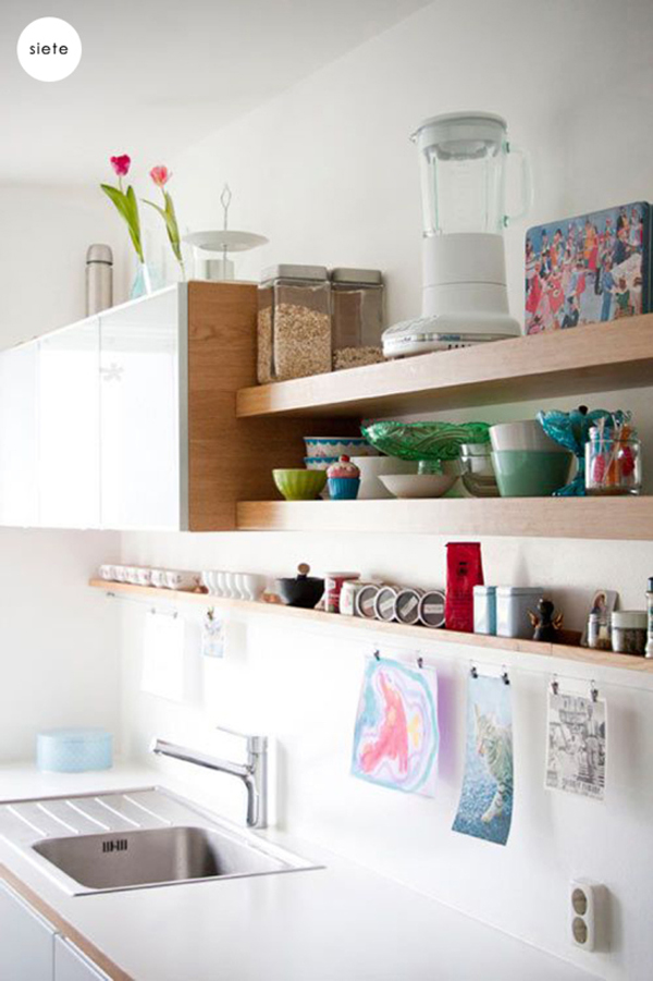 Open Wall Shelves For Kitchen
