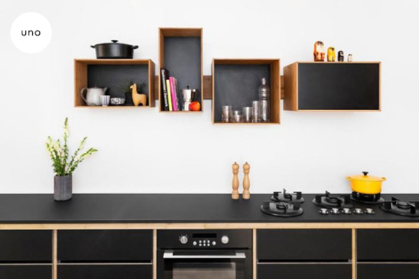 8 ideas de repisas para tu cocina la vida en craft. Black Bedroom Furniture Sets. Home Design Ideas