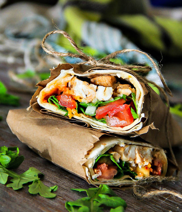 Mesquite Chicken Wrap #recipe