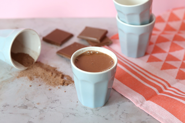 5 ideas de chocolate caliente