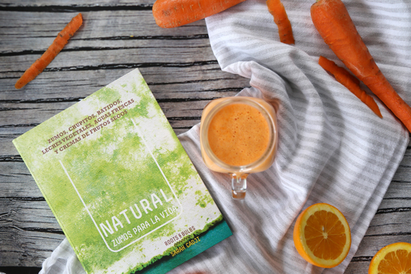 Libro review: Natural, zumos para la vida